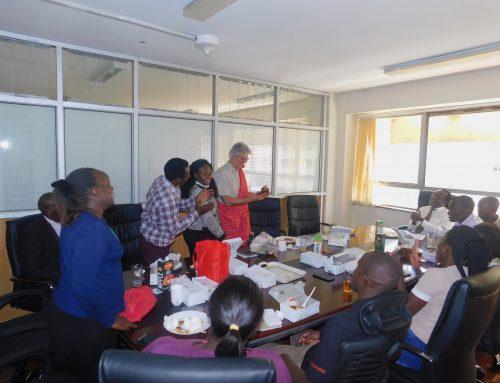 KNQA team bids farewell to Dr Udo Baumfalk