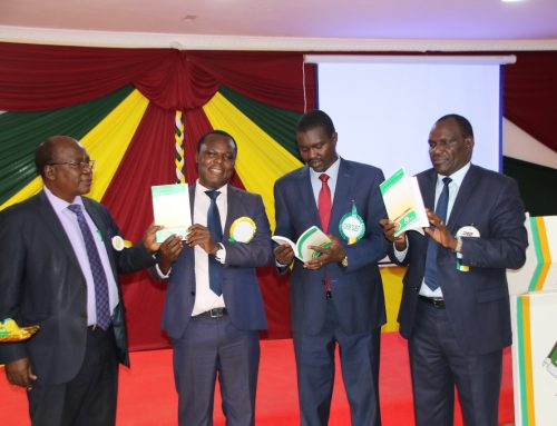 During the Launching of the Journal of TVET Research and Education at Eldoret National Polytechnic.