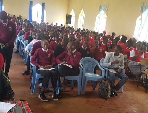 Very interesting and interactive session with high school students at Bishop Kamau Girls High School,  Ngecha Kiambu