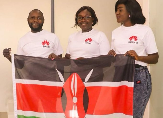 Congratulations to KNQA ict team that participated in the Huawei challenge and emerged number 3. We are proud of you.