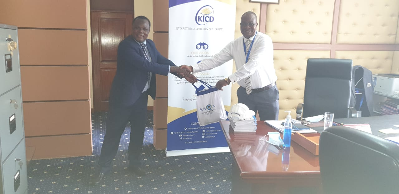 KNQA CEO Dr. Juma Mukhwana today met with Prof. Charles Ong'ondo the CEO of@KICDKenya to explore ways of aligning Curriculum Development to the Kenya National Qualifications Framework.