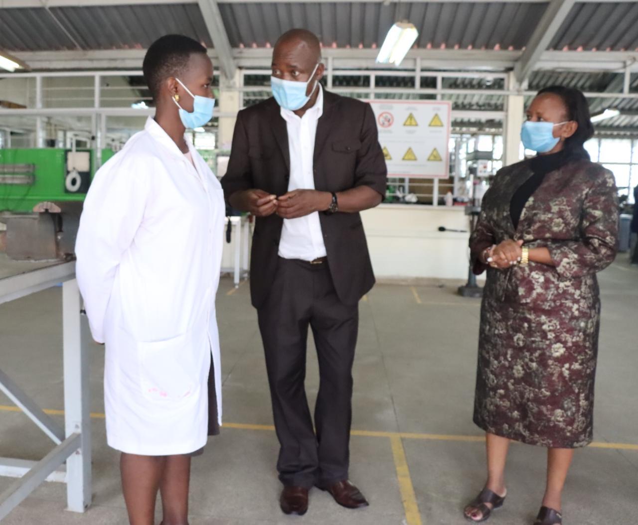 RPL Assessors and applicants at Nairobi TTI RPL Assessment centre. Similair exercise is happening at NITA assessment centres in Nairobi ,Kajiado and Mombasa.