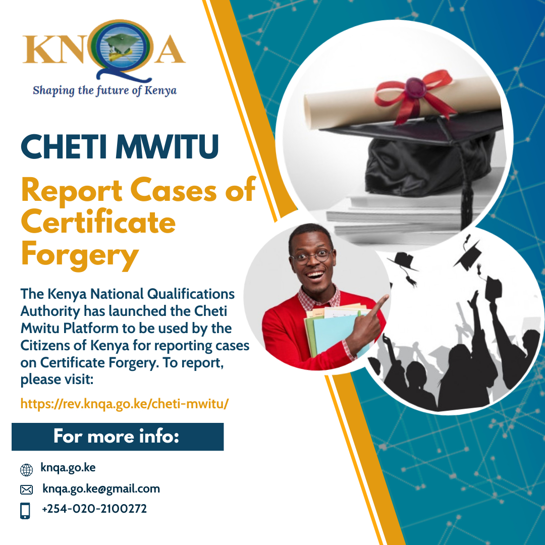 Report Certificate Forgery