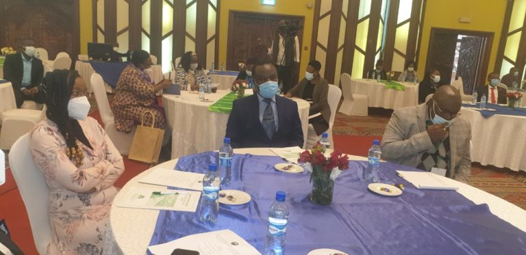 Dr Juma Mukhwana the DG of the KNQA today attending the launch of the 4th Edition of the Manual of Clinical Procedures in Nursing and Midwifery held at SafariPark Hotel, in Nairobi.