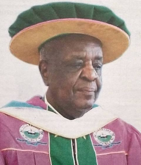 We mourn the death of the first Chancellor of University of Kabianga and first Vice Chancellor of Egerton University; Prof. Richard S. Musangi