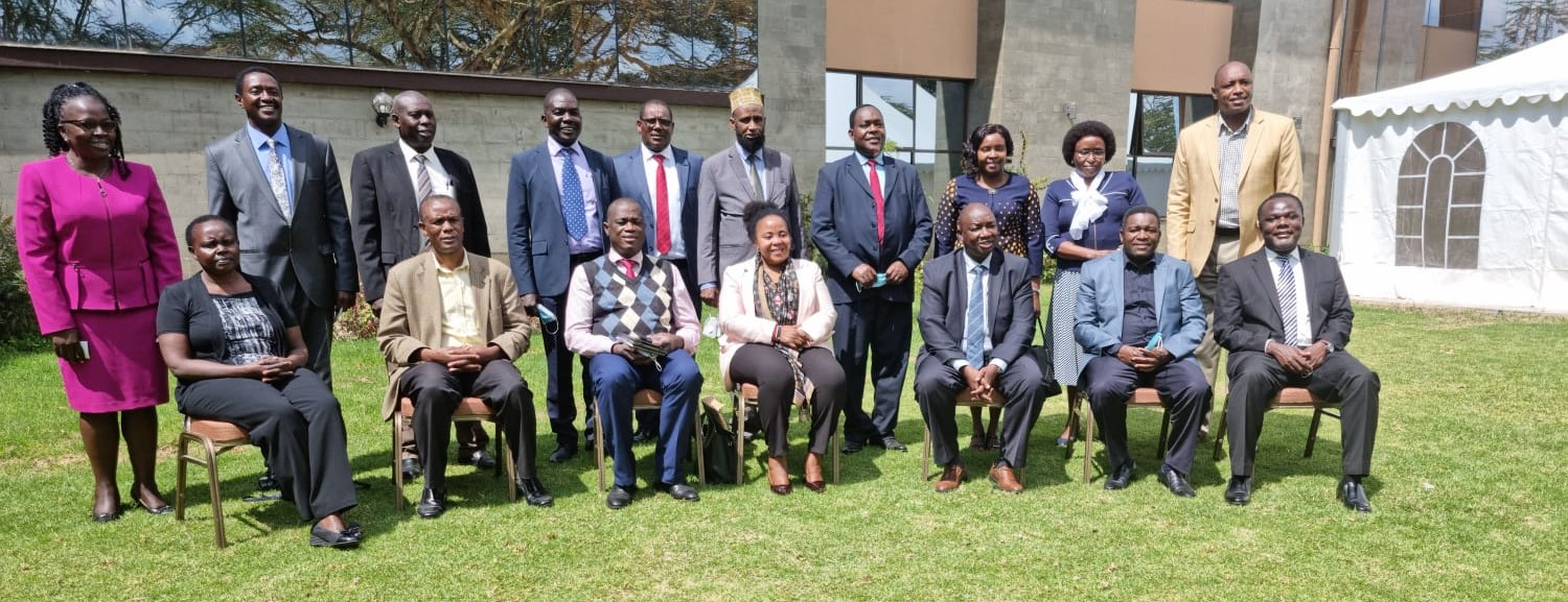 The DG KNQA Dr Juma Mukhwana today joined the PS VTT Dr Margaret Mwakima at a workshop of Principals of National Polytechnics in Kenya.  The DG said that National Polytechnics play a crucial role in skilling the nation and urged them to make sure that qualifications they award are of high quality,  relevant and transformative.